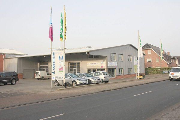 Firma D. Coßmann, Lengerich, Gelände